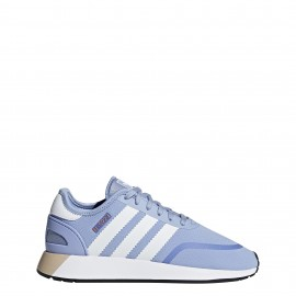 Adidas Donna Iniki Runner Cls Azzurro/Bianco