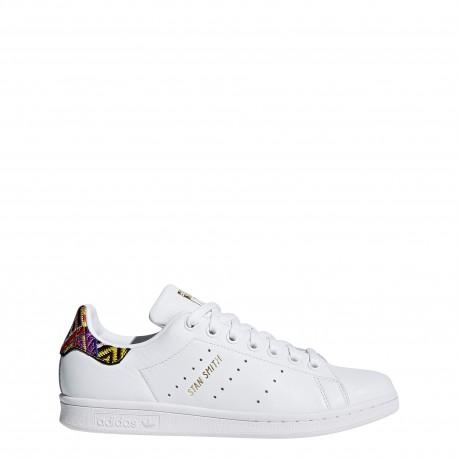 Adidas Donna Stan Smith Bianco/F.Sia