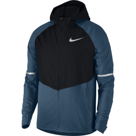 Nike Giacca Running Aeroshield Znl Hd Blue Force/Black