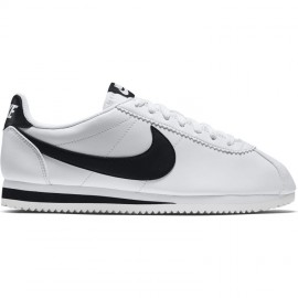 Nike Donna Classic Cortez Leather Bianco/Nero