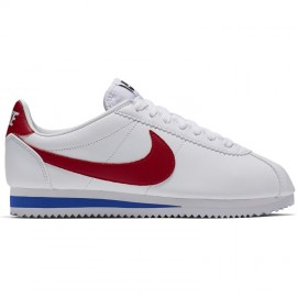 Nike Donna Cortez Leather White/Red