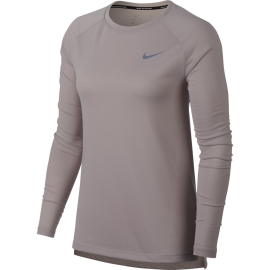 Nike T-Shirt Ml Rn Brthe Tailwind Donna Particle Rose
