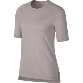 Nike T-shirt Mm Rn Brthe Tailwind Donna Particle Rose