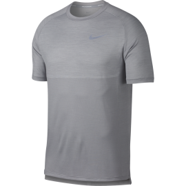 Nike T-shirt Mm Run Dry Medalist Atmosphere Grey/White