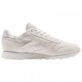 Reebok Donna Classic Lea Shimmer Pale Pink/Silver