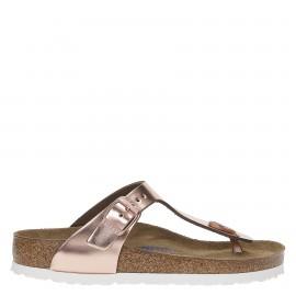 Birkenstock Sandalo Donna Gizeh Metal Rame