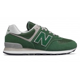 New Balance 574 Mesh/Suede Verde/Verde