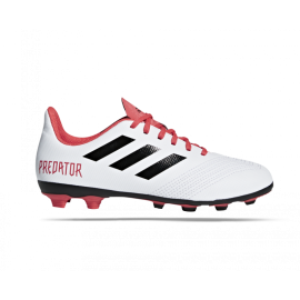 Adidas Bambino Predator 18.4 Fxg White/Coral