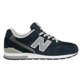 New Balance 996 Suede/Mesh Blu/Silver