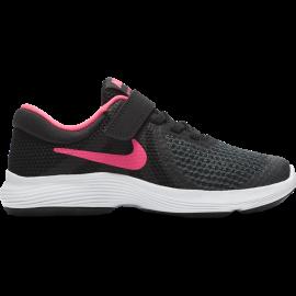 Nike Junior Revolution 4 Psv Nero/Rosa