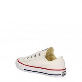 Converse Bambino Canvas Slip On Bianco