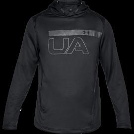 Under Armour T-Shirt Ml C/Capp Nero/Antracite