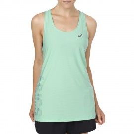 Ascics Tank Donna Rn Graphic Opal Green