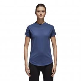 Adidas Originals T-Shirt Donna Zone Rsm Blu