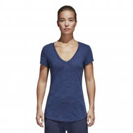 Adidas Originals T-Shirt Donna Sleeve Rsm Blu