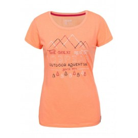 Icepeak T-Shirt Donna Stacy Pesca
