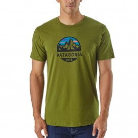 Patagonia T-Shirt Fitz Roy Scope  Sprouted Green