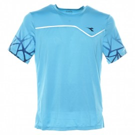 Diadora T-Shirt Mm Clay Tennis Royal