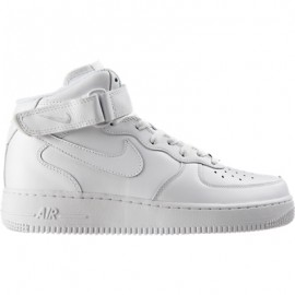 Nike Air Force 1 Mid Bianco/Bianco