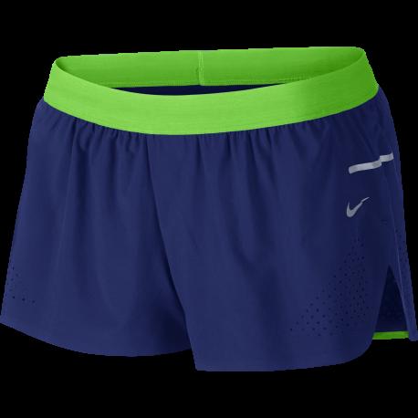 Nike Short Run Race Royal/Silver Donna