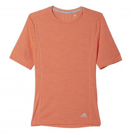 Adidas T-Shirt Mm Run Supernova Sun Glow Donna