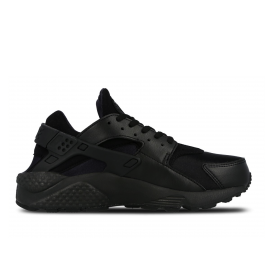Nike Air Huarache Run Black/Black Donna