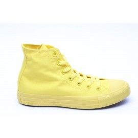 Converse Monocrome All Star Hi Canvas Donna Giallo/Giallo