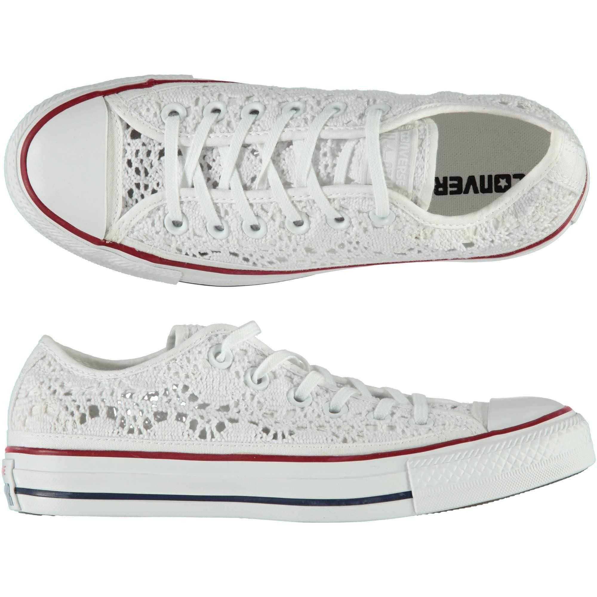 all star converse bianche basse