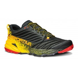 La Sportiva Akasha Black Yellow