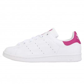 Adidas Stan Smith Bianco/Fucsia Bambino