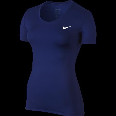 Nike T-Shirt Mm Cool Train Bluette Donna