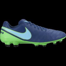 Nike Tiempo Genio II Leather Fg Blu/Azzurro