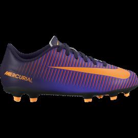 Nike Mercurial Vortex III Fg Viola/Arancio Bambino