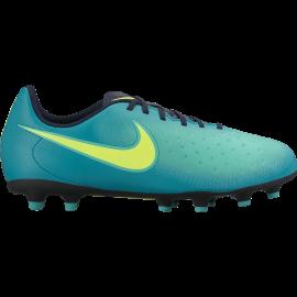 Nike Magista Ola II Fg Azzurro/Giallo Bambino