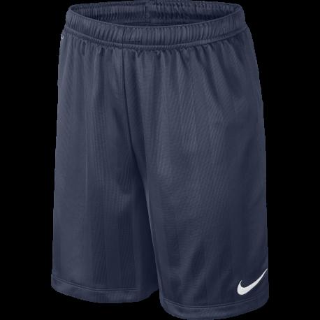 Nike Short Academy B Jaquard Blu Bambino