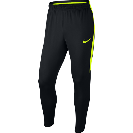 Nike Pantalone Dry Training Nero/Giallo