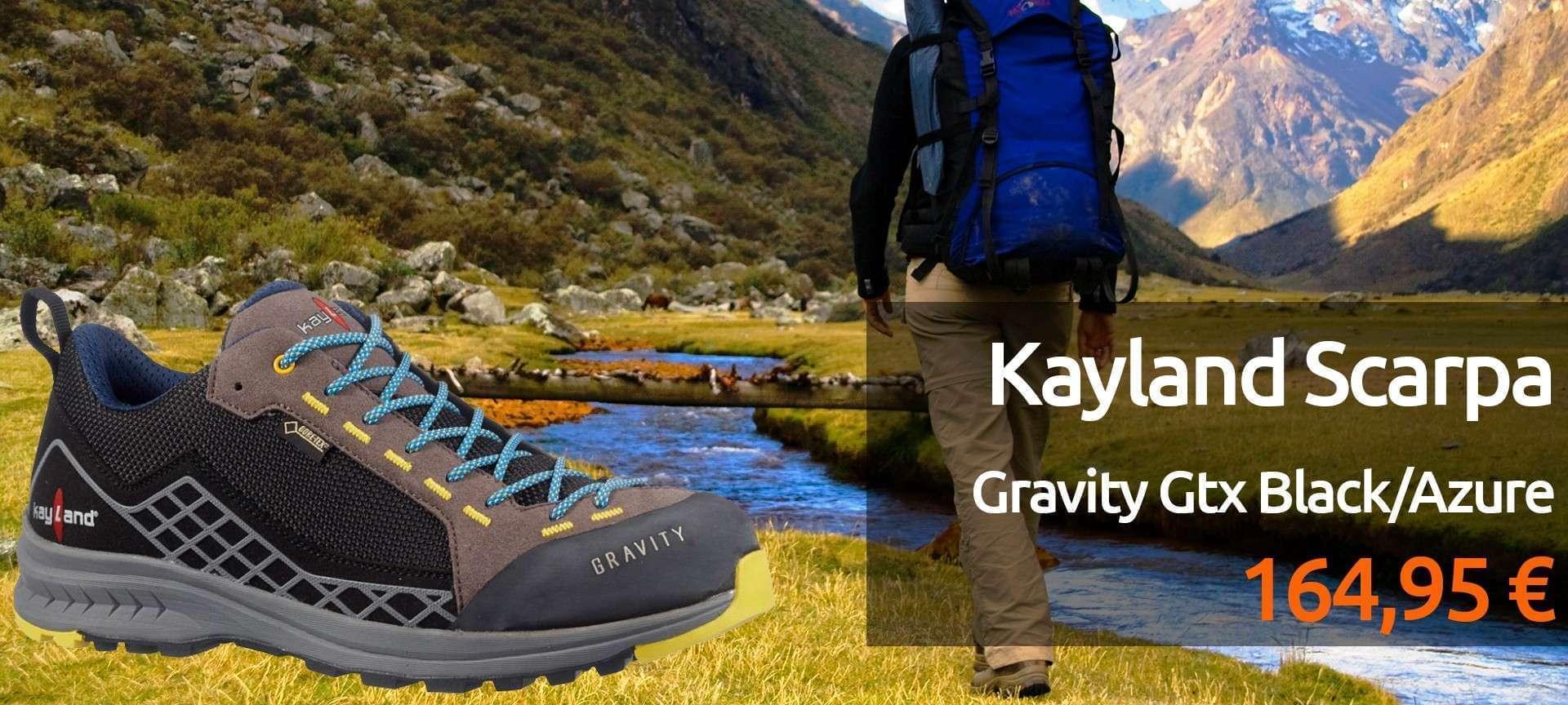 Scarpe Kayland Scarpa Gravity Gtx Black/Azure