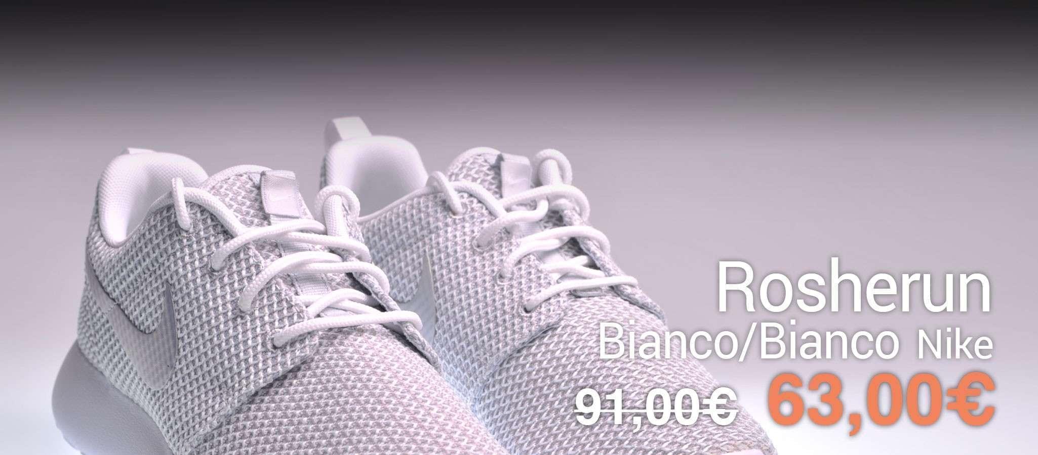 Nike Rosherun Bianco/Bianco
