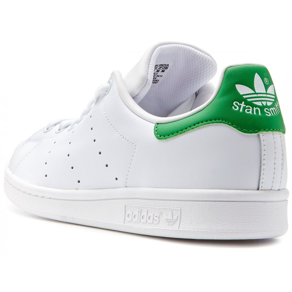 adidas bianche strisce verdi