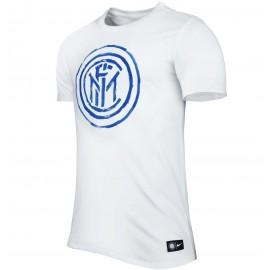 Nike T-Shirt Mm Inter Crest Tee White