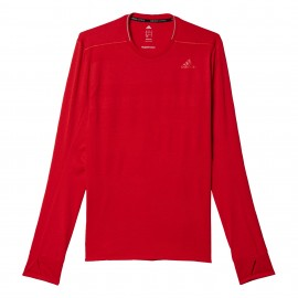 ADIDAS t-shirt ml run supernova ray red
