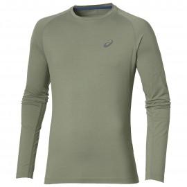 9b2133cf76ce Asics T-Shirt Ml Run Elite Baselayer Eucalyptus