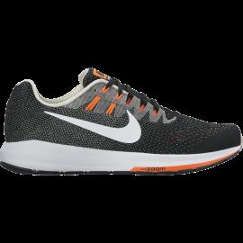 Nike Air Zoom Structure 20  Black/Matte Silver/Hyper Orange/White