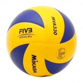 Mikasa Pallone Volley Allenamento Mva330 Yellow/Navy