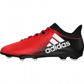 Adidas X 16.3 FG Red/Black