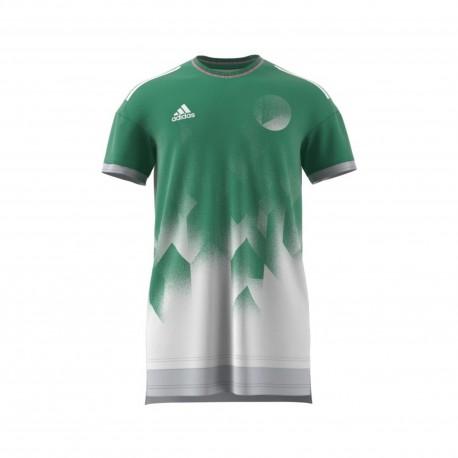 Adidas T-Shirt Tango Future Layered Green/White