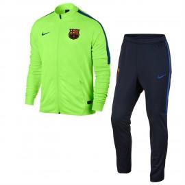 Nike Tuta FC Barcelona Green/Black Junior