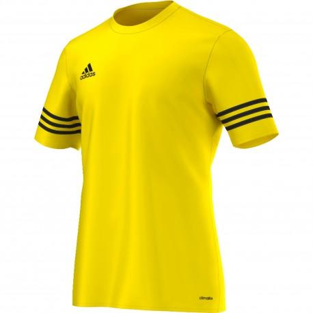 ADIDAS t shirt entrada 14 team yellowblack f50484