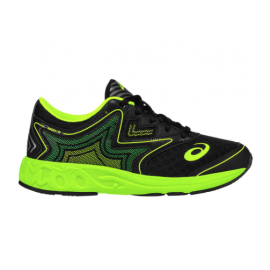 Asics Noosa Ff Gs Black/Safety Yellow Kids
