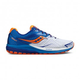 Saucony Ride 9 White/Blue